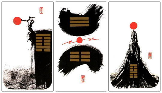 中国を発祥とするイーチンタロットカード
