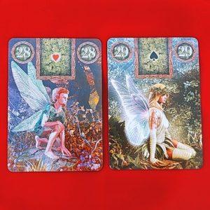 フェアリー・ルノルマンカードの紳士と淑女のカード